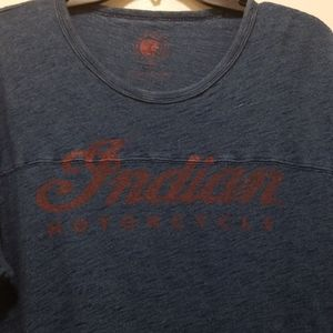 Lucky Brand INDIAN MOTORCICLE t-shirt